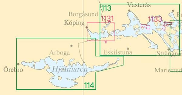 Sjökort nr 1133