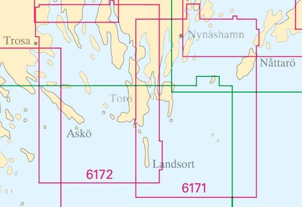 Sjökort nr 6172