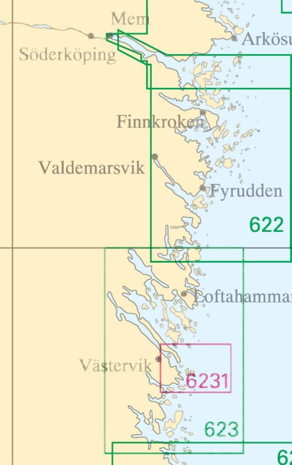 Sjökort nr 6231