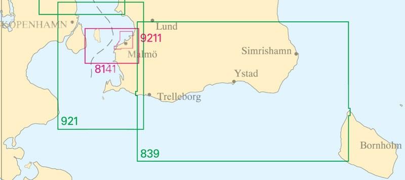 Sjökort nr 921