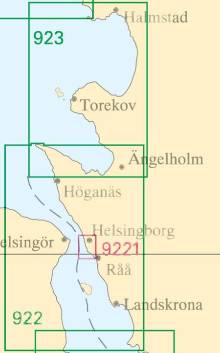 Sjökort nr 9221