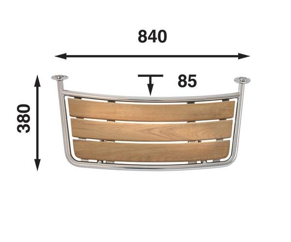 Båtsystem Badplattform PT8035/1396