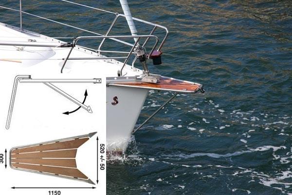 Båtsystem Gennakerpeke GPT100/1883