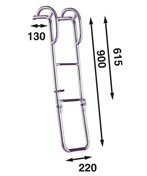 Båtsystem Stege 2+1-steg till peke BU75P