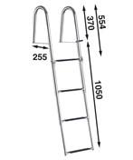 Båtsystem Badstege 4-steg BUT47