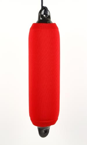 Fenderskydd röda 5x20 tum