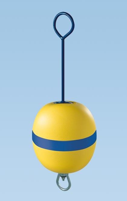 Boj gul 40cm lång ten (fylld)