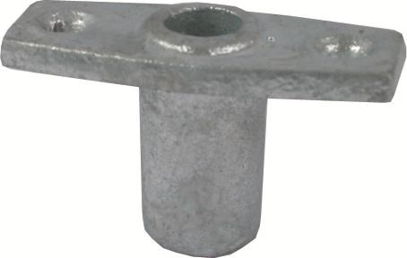 Årklykefäste infällt hål 13mm FP=2