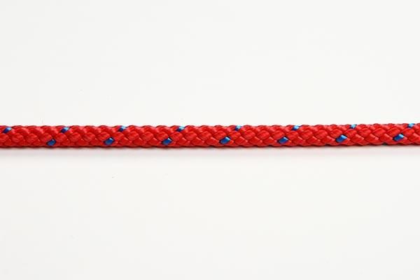 Albatros Lättvindslina 6mm röd 8-flätad