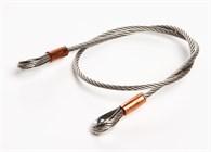 Wirestropp 4mm, ange längd upp till 1m