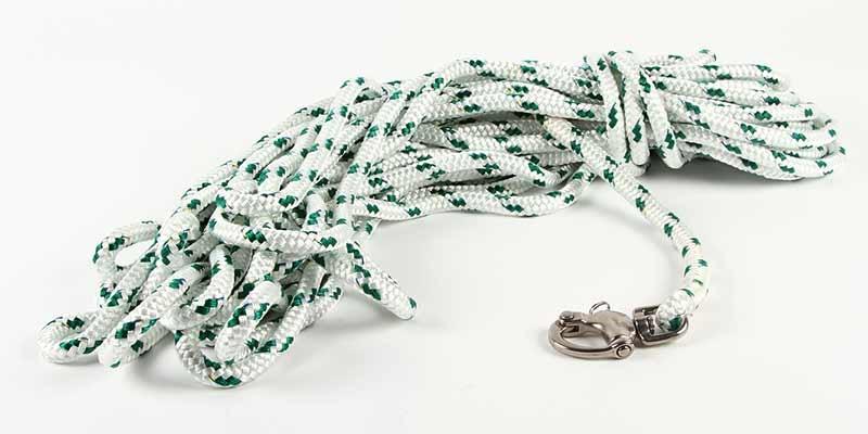 Spinnakerskot 8mmx15m grön