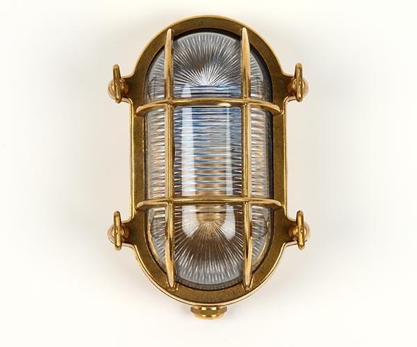 Gallerlampa oval 14x20cm