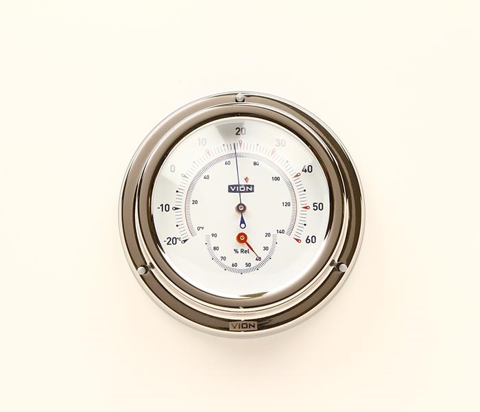 Termo-/Hygrometer VION 125mm