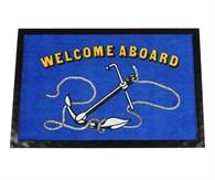 Dörrmatta Welcome Aboard