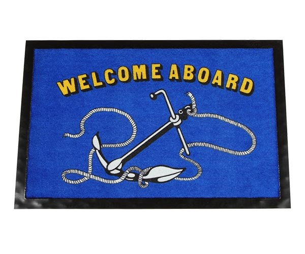Dörrmatta Welcome Aboard
