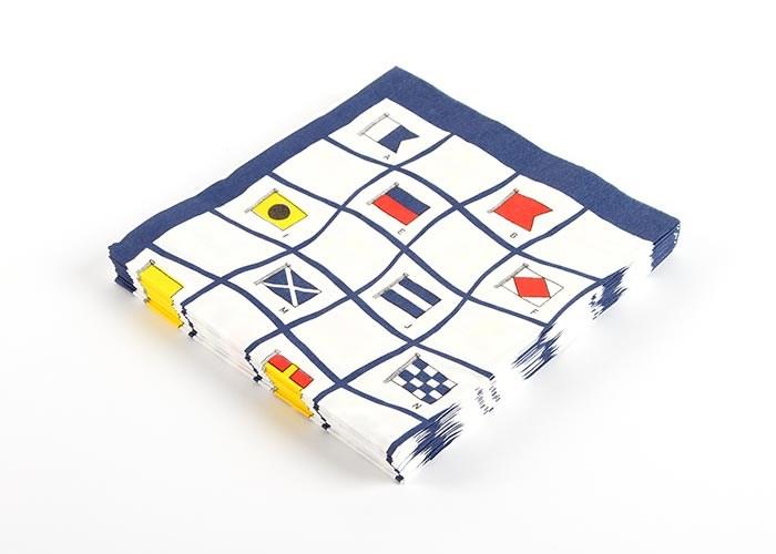 Servetter Signalflaggor 20st