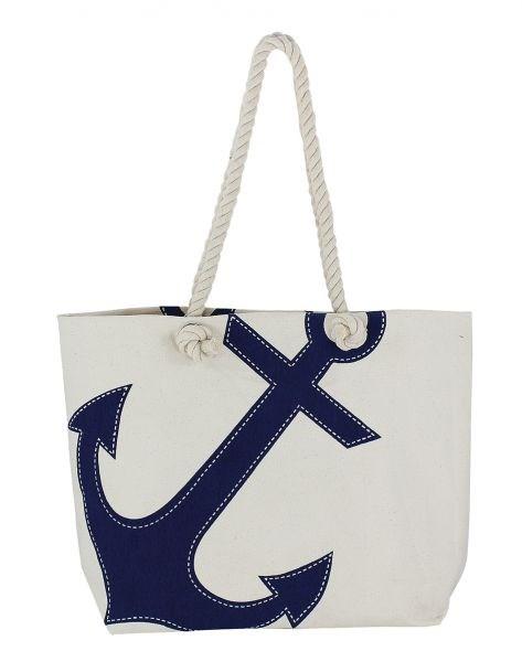 Shopping-bag Blå