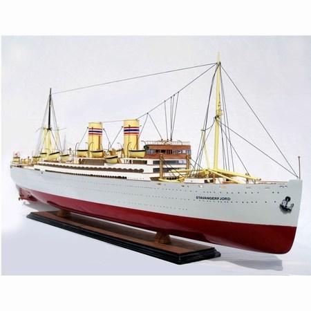 Modellskepp Stavanger Fjord