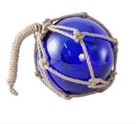 Glaskula blå 30cm