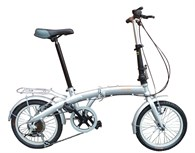 Cykel 16 tum silvermetallic