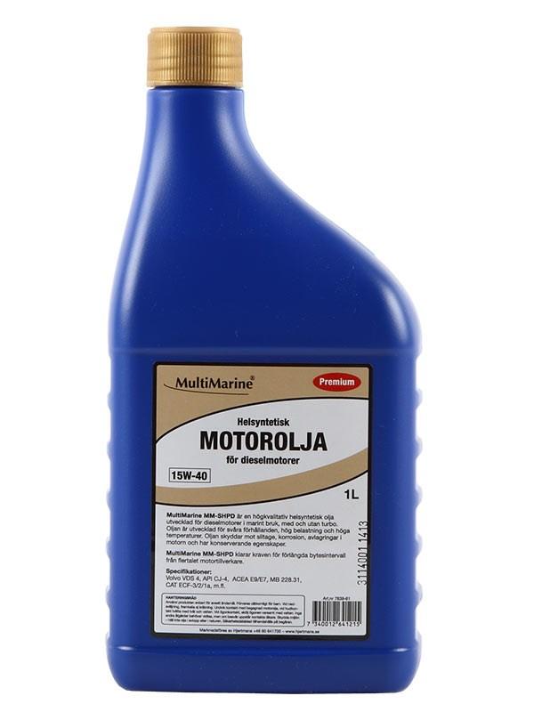 Motorolja Multimarine premium 1 liter