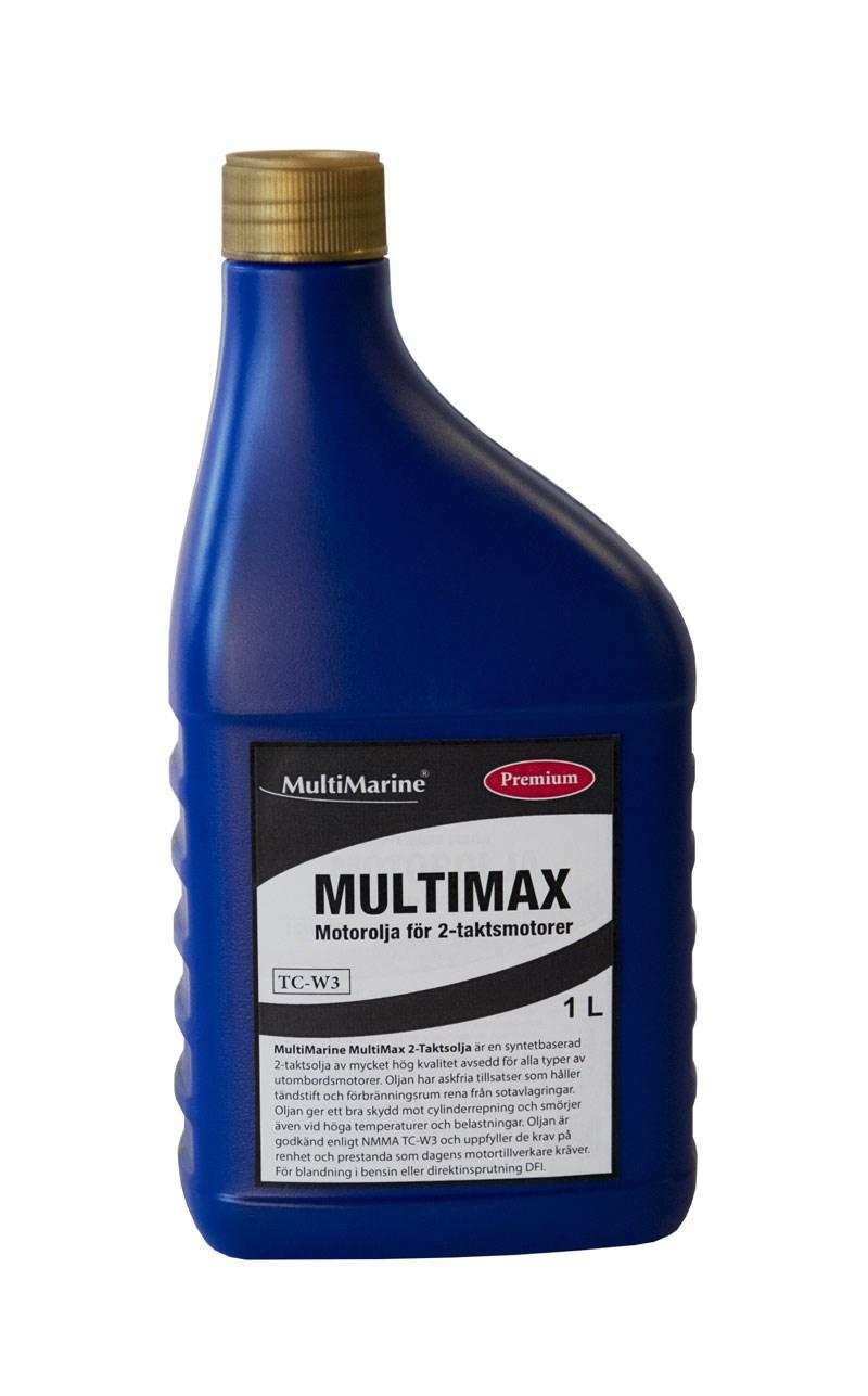 Motorolja Multimarine 2-takt Multimax 1liter