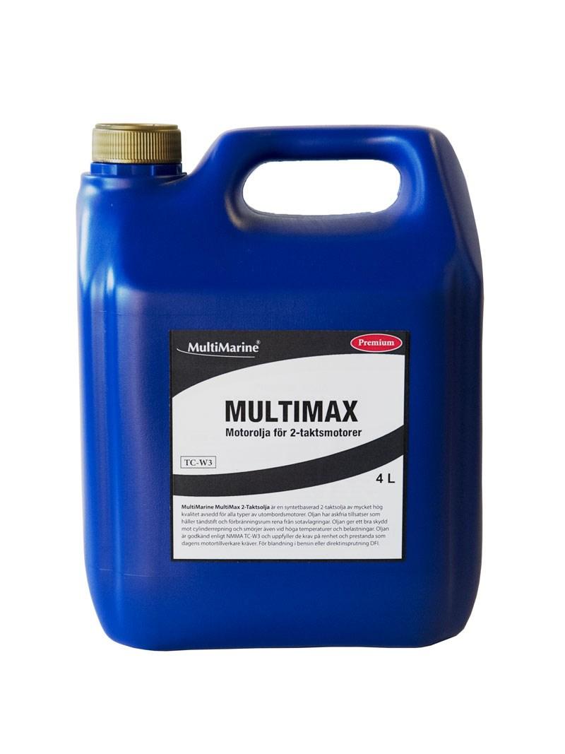 Motorolja Multimarine 2-takt Multimax 4liter
