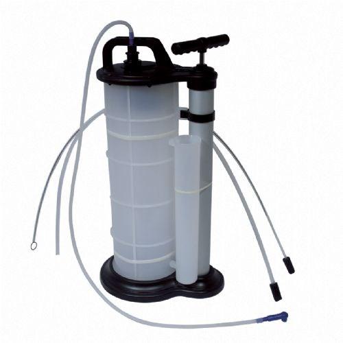 Oljebytarpump med behållare 9 lit