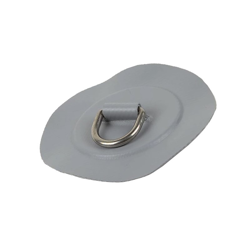 D-ring gummibåt grå