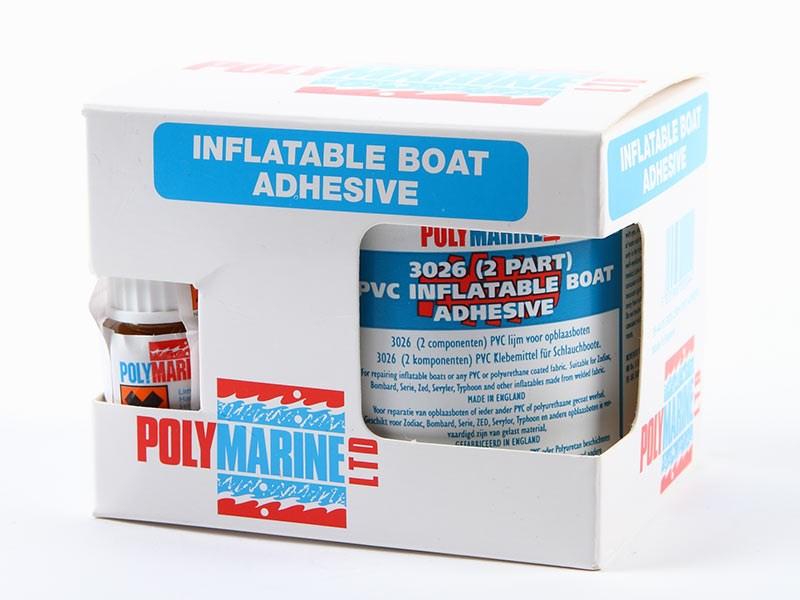 Lim gummibåt 2-komponent 250ml PVC