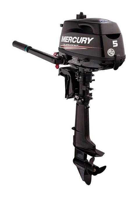 Mercury Utombordare 5hk/kort rigg