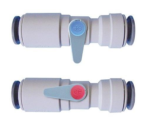 JG serviceventil 15mm handtag
