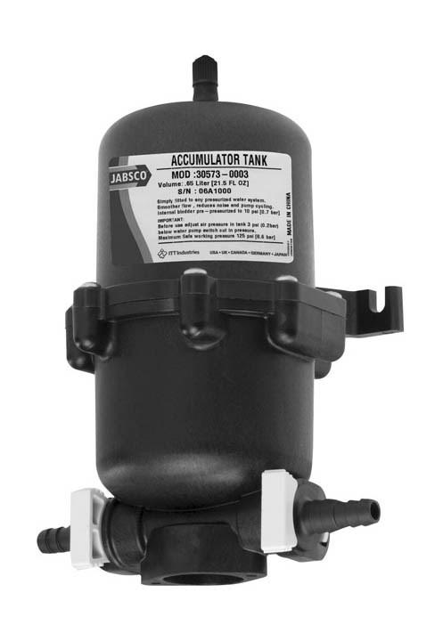 Accumulator tank  0,6 liter
