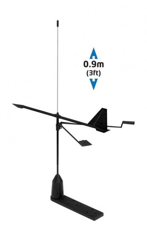 VHF antenn 90cm Hawk