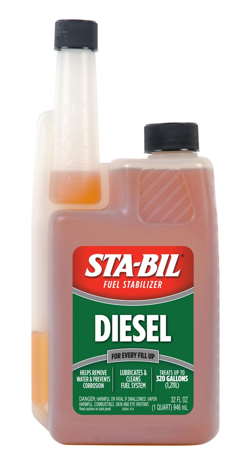 Stabil dieseltillsats stor flaska